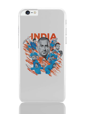 iPhone 6 Plus/iPhone 6S Plus Covers | Men In Blue Indian Cricket Team iPhone 6 Plus / 6S Plus Covers Online India