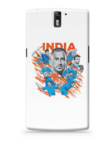 OnePlus One Covers | Men In Blue Indian Cricket Team OnePlus One Case Cover Online India