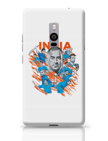 OnePlus Two Covers | Men In Blue Indian Cricket Team OnePlus Two Case Cover Online India