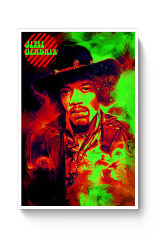 Posters Online | Jimi Hendrix Poster Online India | Designed by: RJ Artworks