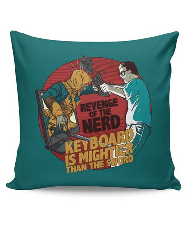 PosterGuy | Revenge Of The Nerd Cushion Cover Online India