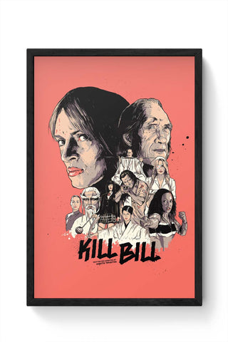 Framed Posters Online India | Kill Bill Framed Poster Online India