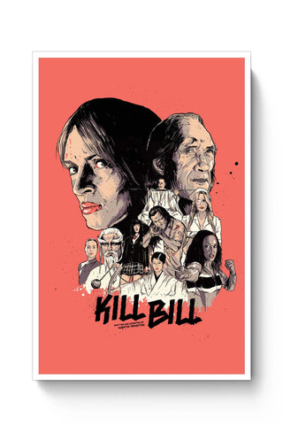 Posters Online | Kill Bill Poster Online India | Designed by: RJ Artworks