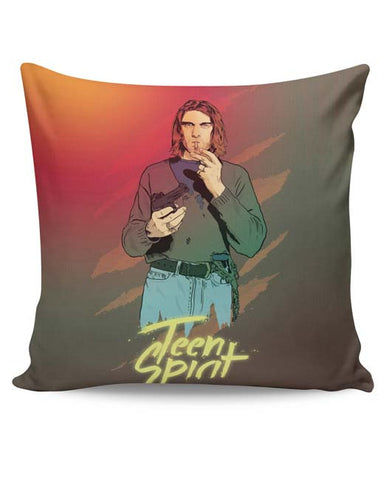 PosterGuy | Teen Spirit Kurt Cobain Cushion Cover Online India