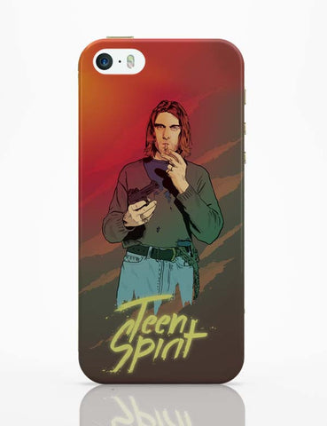 iPhone 5 / 5S Cases & Covers | Teen Spirit Kurt Cobain iPhone 5 / 5S Case Cover Online India