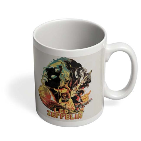 Coffee Mugs Online | Led Zeppelin The Best Band Coffee Mug Online India