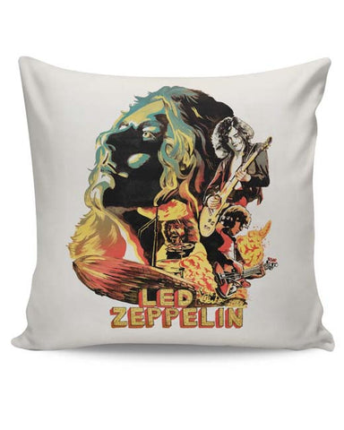 PosterGuy | Led Zeppelin The Best Band Cushion Cover Online India
