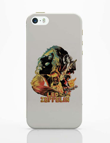 iPhone 5 / 5S Cases & Covers | Led Zeppelin The Best Band iPhone 5 / 5S Case Cover Online India