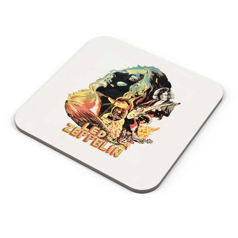 Buy Coasters Online | Led Zeppelin The Best Band Coasters Online India | PosterGuy.in