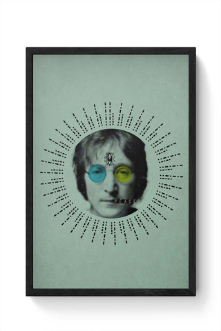 Framed Posters Online India | John Lennon Peace Framed Poster Online India
