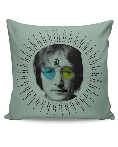 PosterGuy | John Lennon Peace Cushion Cover Online India