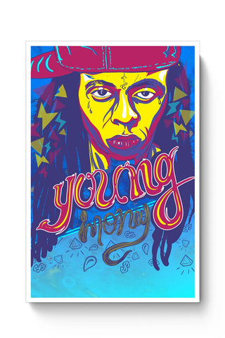 Posters Online | Lil Wayne Poster Online India | Designed by: RJ Artworks