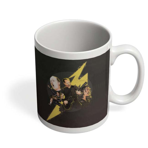 Coffee Mugs Online | Metallica Lightning Coffee Mug Online India