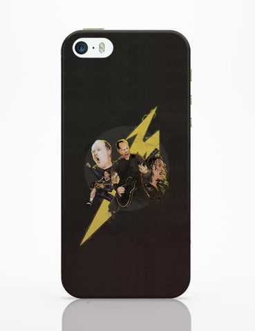 iPhone 5 / 5S Cases & Covers | Metallica Lightning iPhone 5 / 5S Case Cover Online India