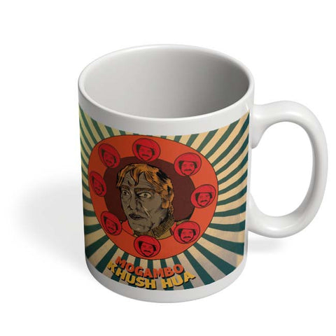 Coffee Mugs Online | Mogambo Khush Hua Coffee Mug Online India