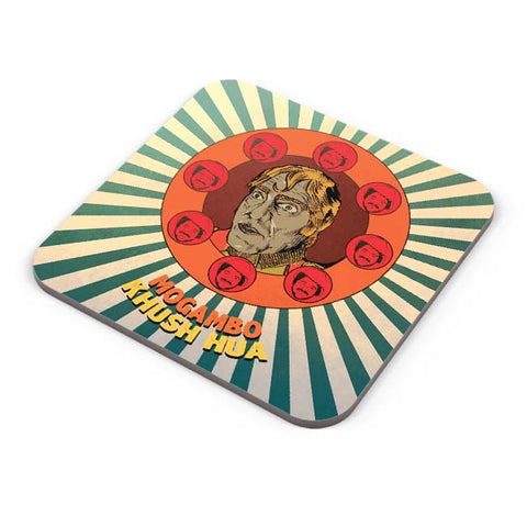 Buy Coasters Online | Mogambo Khush Hua Coasters Online India | PosterGuy.in