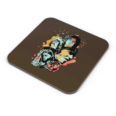 Buy Coasters Online | Pink Floyd Modern Art Painting Coasters Online India | PosterGuy.in