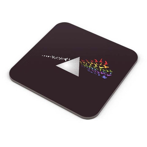 Buy Coasters Online | Prism From The Dark Side Of The Moon Coasters Online India | PosterGuy.in