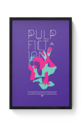 Framed Posters Online India | Pulp Fiction Framed Poster Online India