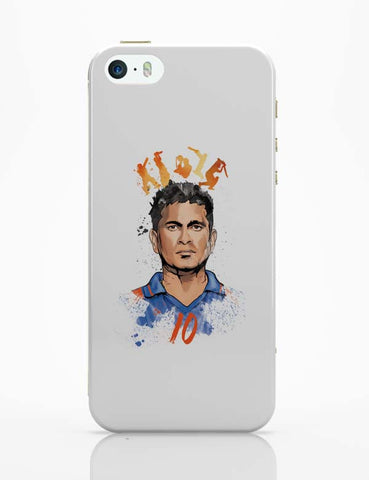 iPhone 5 / 5S Cases & Covers | Sachin Tendulkar No. 10 iPhone 5 / 5S Case Cover Online India