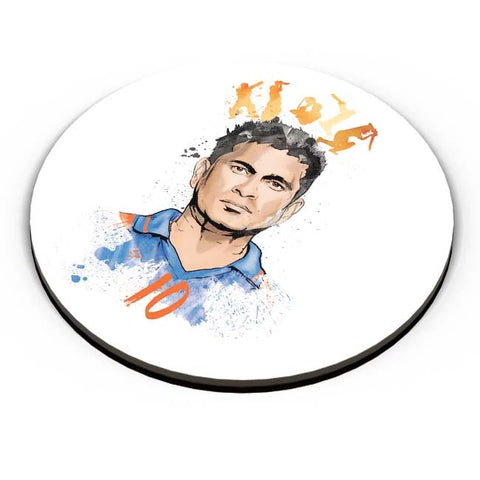 PosterGuy | Sachin Tendulkar No. 10 Fridge Magnet Online India by RJ Artworks
