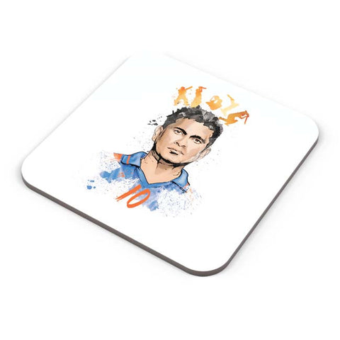 Buy Coasters Online | Sachin Tendulkar No. 10 Coasters Online India | PosterGuy.in
