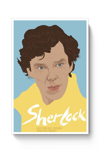 Posters Online | Sherlock Poster Online India | Designed by: RJ Artworks