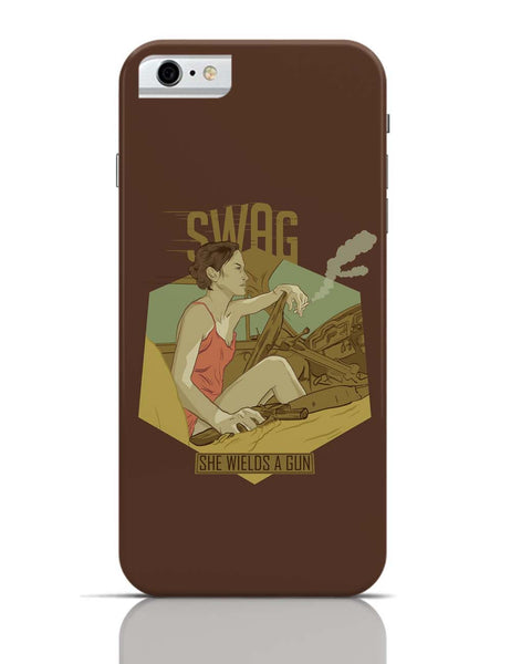 iPhone 6/6S Covers & Cases | Swag She Wields A Gun iPhone 6 / 6S Case Cover Online India