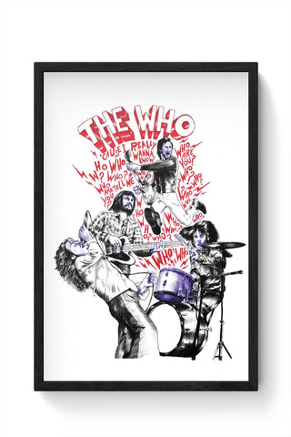 Framed Posters Online India | The Who Framed Poster Online India