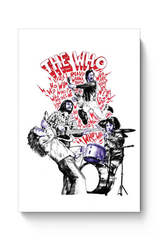 Posters Online | The Who Poster Online India | Designed by: RJ Artworks
