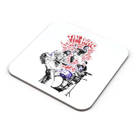 Buy Coasters Online | The Who Coasters Online India | PosterGuy.in