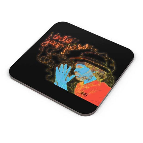 Buy Coasters Online | Thom Yorke Into Your Pocket Coasters Online India | PosterGuy.in