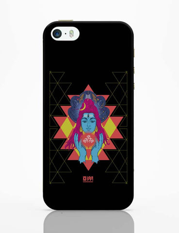 iPhone 5 / 5S Cases & Covers | Om Shiva Triangle Art iPhone 5 / 5S Case Cover Online India