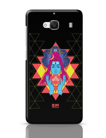 Xiaomi Redmi 2 / Redmi 2 Prime Cover| Om Shiva Triangle Art Redmi 2 / Redmi 2 Prime Case Cover Online India