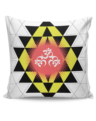 PosterGuy | Om Shiva Triangle Art Cushion Cover Online India