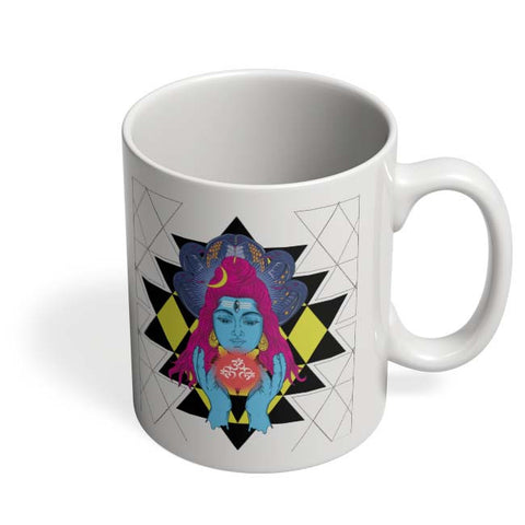 Coffee Mugs Online | Om Shiva Triangle Art Coffee Mug Online India