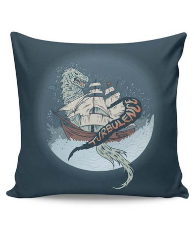 PosterGuy | Turbulence Graphic Illustration Cushion Cover Online India