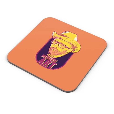 Buy Coasters Online | Van Morrison Modern Art Coasters Online India | PosterGuy.in