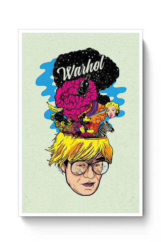 Posters Online | Andy Warhol Poster Online India | Designed by: RJ Artworks
