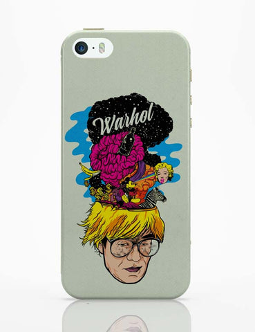 iPhone 5 / 5S Cases & Covers | Andy Warhol iPhone 5 / 5S Case Cover Online India