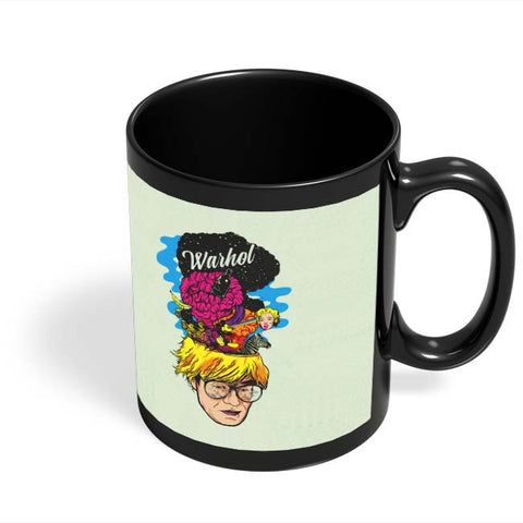 Coffee Mugs Online | Andy Warhol Black Coffee Mug Online India