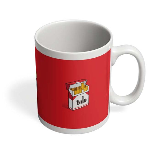 Coffee Mugs Online | Yolo Minimal Art Coffee Mug Online India