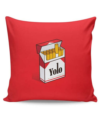 PosterGuy | Yolo Minimal Art Cushion Cover Online India