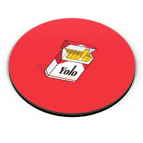 PosterGuy | Yolo Minimal Art Fridge Magnet Online India by RJ Artworks