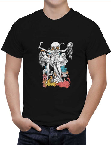 Buy Chinnamasta Woman T-Shirts Online India | Chinnamasta T-Shirt | PosterGuy.in