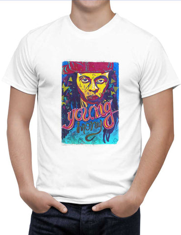 Buy Lil Wayne Woman T-Shirts Online India | Lil Wayne T-Shirt | PosterGuy.in
