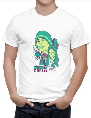 Buy Requiem For A Dream  Woman T-Shirts Online India | Requiem For A Dream  T-Shirt | PosterGuy.in