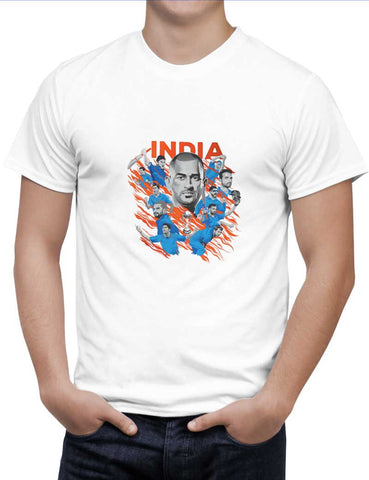 Buy Team India Woman T-Shirts Online India | Team India T-Shirt | PosterGuy.in