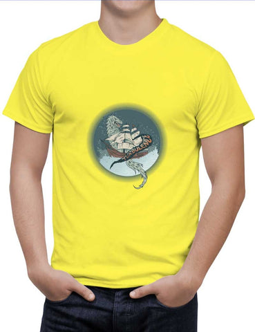 Buy Turbulence Graphic Illustration  Woman T-Shirts Online India | Turbulence Graphic Illustration  T-Shirt | PosterGuy.in