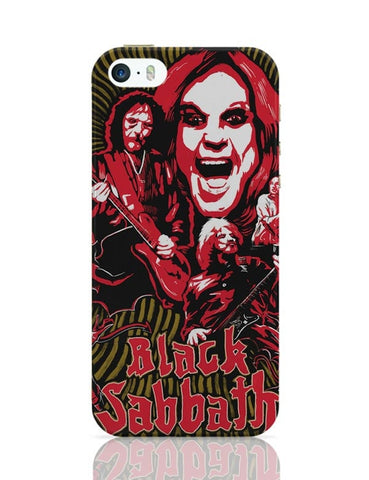 Black Sabbath iPhone 5/5S Covers Cases Online India